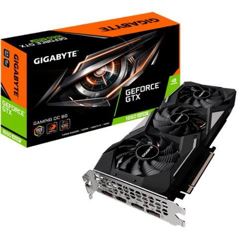 技嘉 GeForce GTX 1660 Super Gaming OC 6GB 游戏显卡