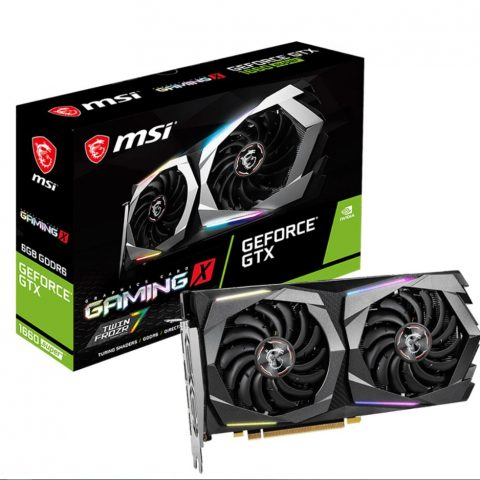 微星 Geforce GTX 1660 SUPER GAMING X 游戏显卡