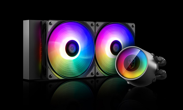 Deepcool Castle 240RGB CPU Liquid Cooler V2 (DP-GS-H12AR-CSL240V2)