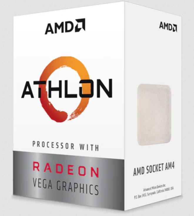 AMD Athlon 3000G Dual Core AM4 3.5GHz APU