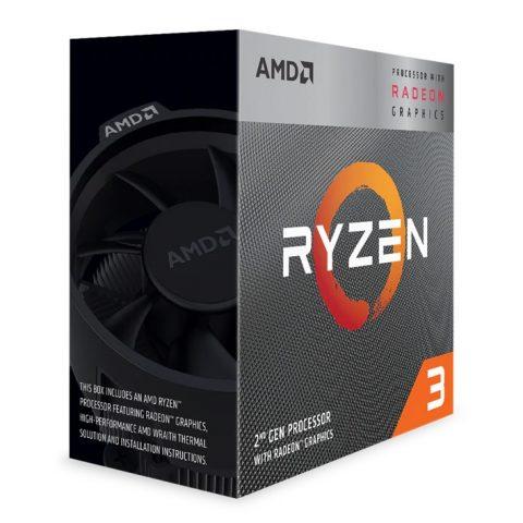 AMD Ryzen 3 3200G APU with Vega 8 Graphics处理器 CPU