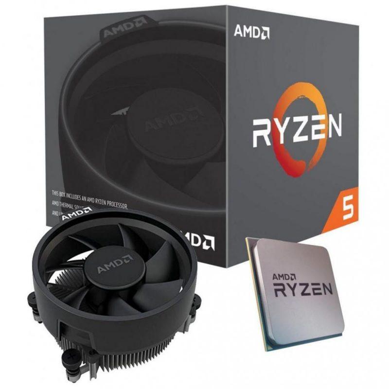 AMD Ryzen 3 3400G APU with Vega 11 Graphics处理器 CPU
