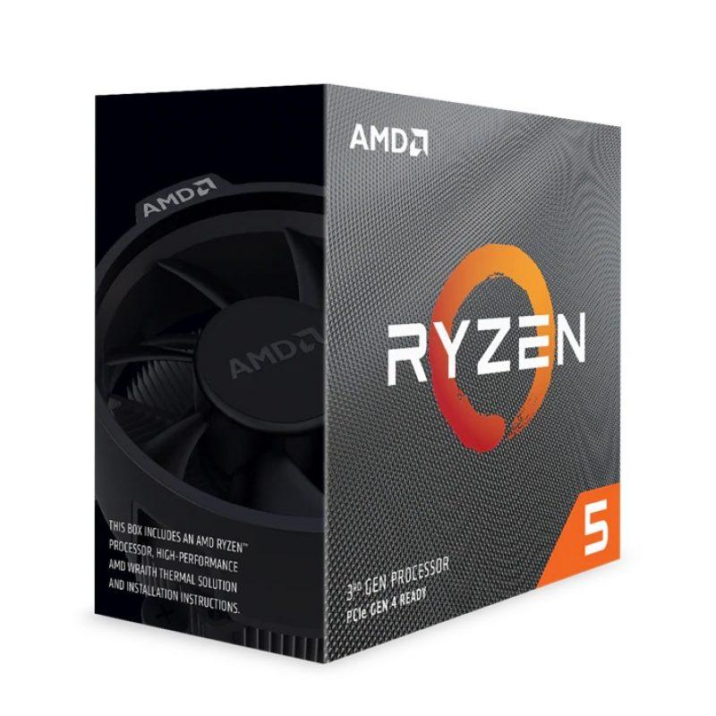 AMD Ryzen 5 3600  AM4处理器 CPU