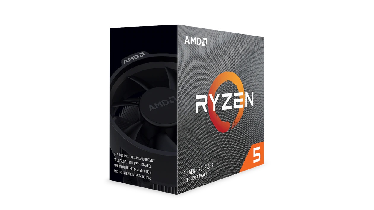 AMD Ryzen 5 3600X with Wraith Spire