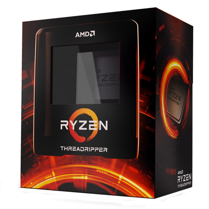 AMD Ryzen Threadripper 3960X 24 Core Socket TRX40 3.8GHz CPU