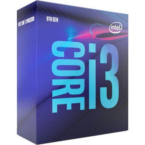 Intel 核心 i3 9100 Quad 核心 LGA 1151 3.6GHz CPU 处理器 处理器 CPU