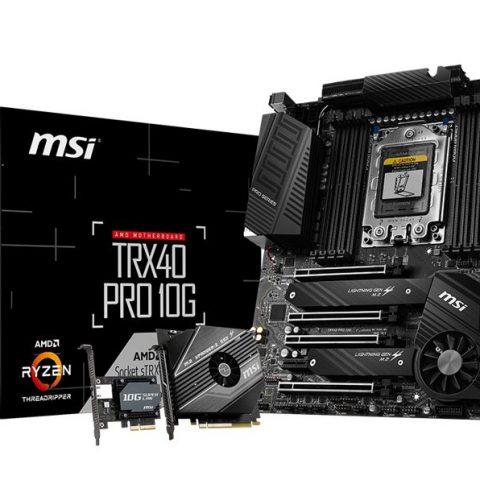 微星 TRX40 Pro 10G ATX 主板