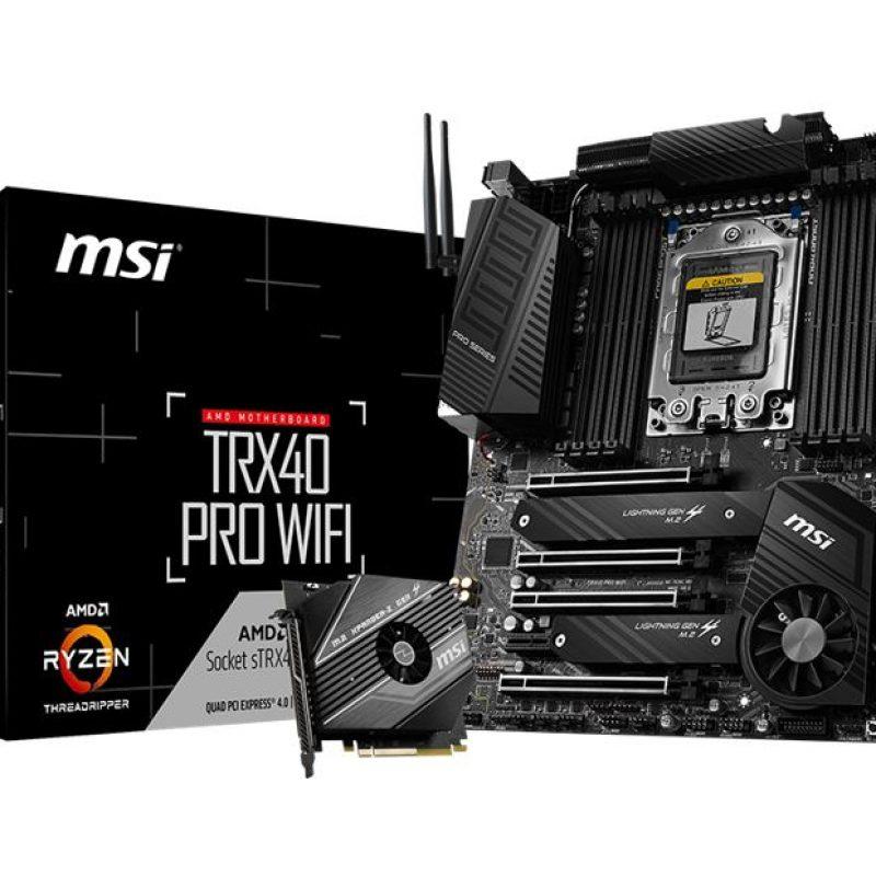微星 TRX40 PRO WIFI ATX 主板
