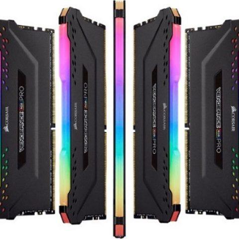 海盗船 复仇者 RGB Pro CMW32GX4M2A2666C16 32GB (2x16GB) DDR4 内存