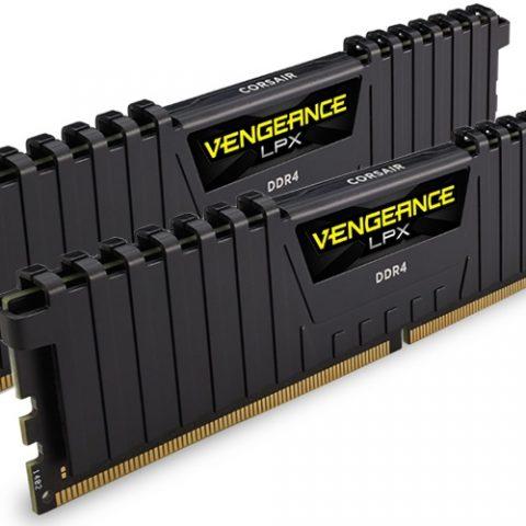 海盗船 复仇者 LPX CMK32GX4M2A2400C14 32GB (2x16GB) DDR4 内存