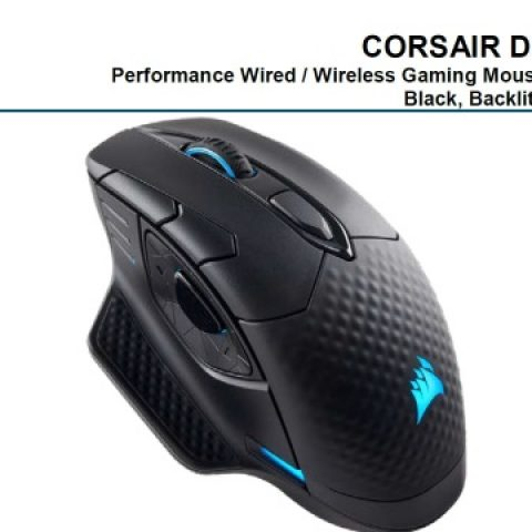海盗船 Dark Core SE RGB Wireless Gaming Mouse 鼠标