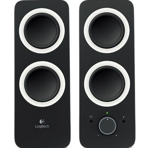 Logitech Z200 Multimedia Speakers Midnight Black 音箱 音响 扬声器
