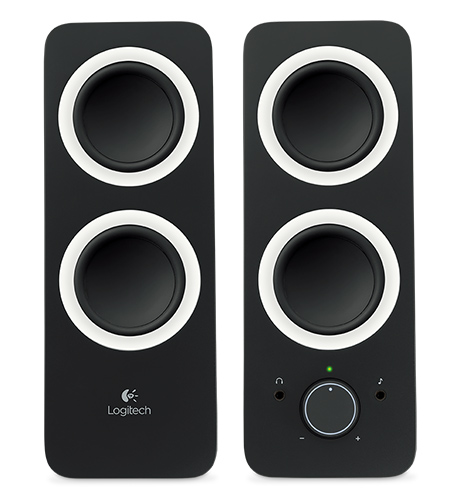 Logitech Z200 Multimedia Speakers Midnight Black