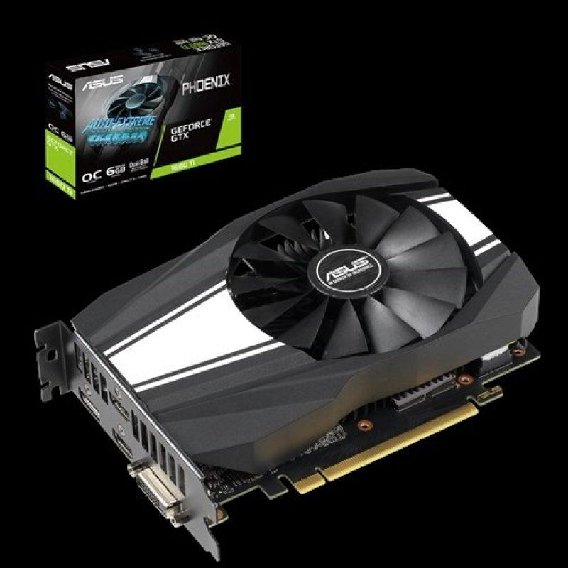 华硕 GeForce GTX 1660 Ti Phoenix OC 6GB 游戏显卡