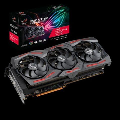 华硕 玩家国度 ROG 玩家国度 Strix Radeon RX 5700 OC 8GB 游戏显卡 设计显卡 渲染显卡