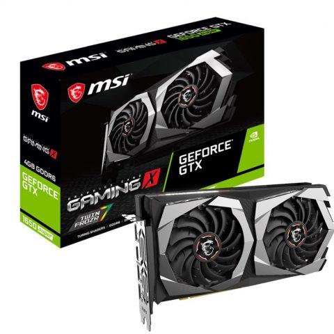 微星 GeForce GTX 1650 Super Gaming X 4G 游戏显卡