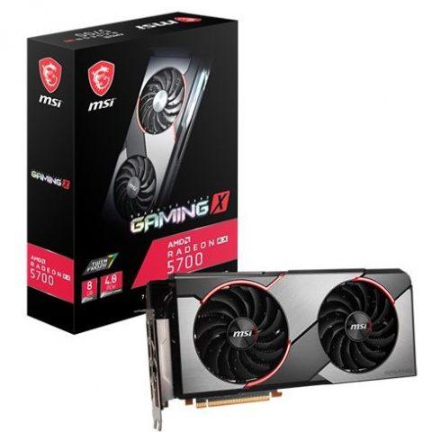 微星 Radeon RX 5700 Gaming X 8GB 游戏显卡 设计显卡 渲染显卡
