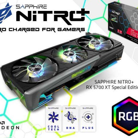 Sapphire Radeon RX 5700 XT Nitro+ SE 8GB 游戏显卡 设计显卡 渲染显卡