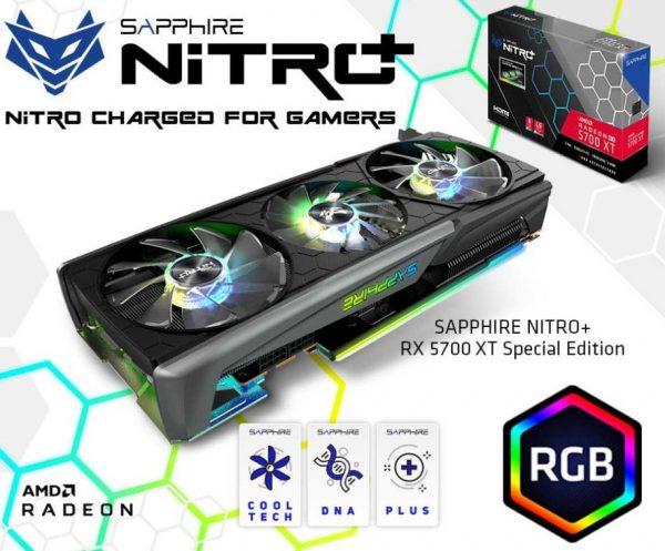 Sapphire Radeon RX 5700 XT Nitro+ SE 8GB