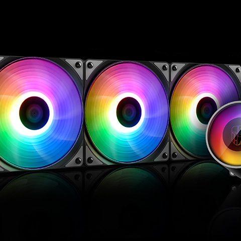 九州风神 九州风神 CASTLE 360 堡垒360V2 RGB V2 一体水冷散热器