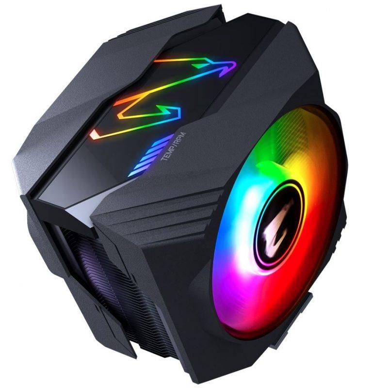 技嘉 AORUS 雕牌 ATC800 RGB 静音多平台 CPU风冷 高性能风冷散热器