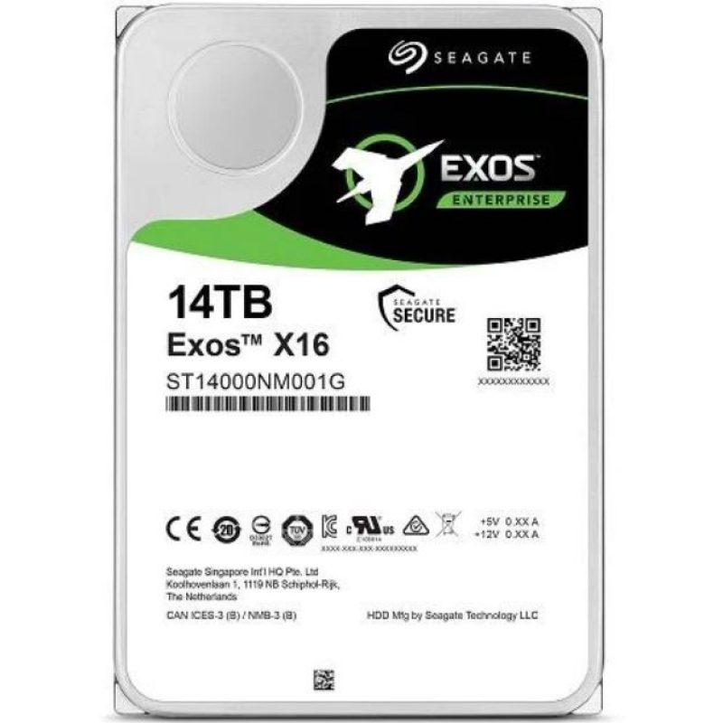 """希捷 Seagate 14TB 3.5"""" EXOS Enterprise 512E/4KN 7200RPM 机械硬盘"""