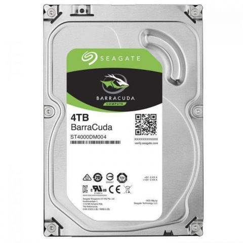 "希捷 Seagate 4TB 3.5"" Barracuda 5900RPM 机械硬盘"
