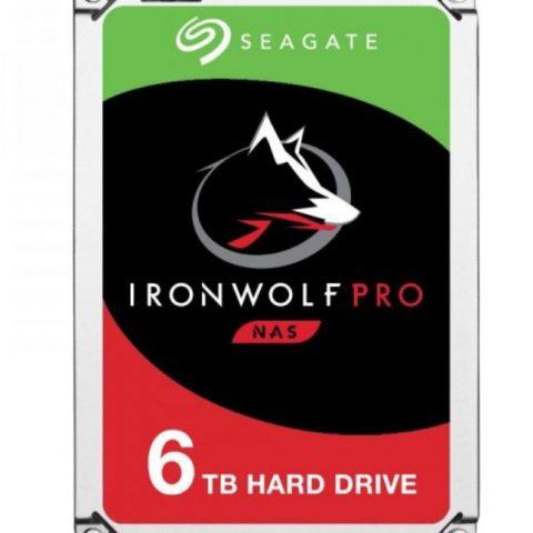 """希捷 Seagate 6TB 3.5"""" IronWolf Pro NAS 7200 RPM 机械硬盘"""