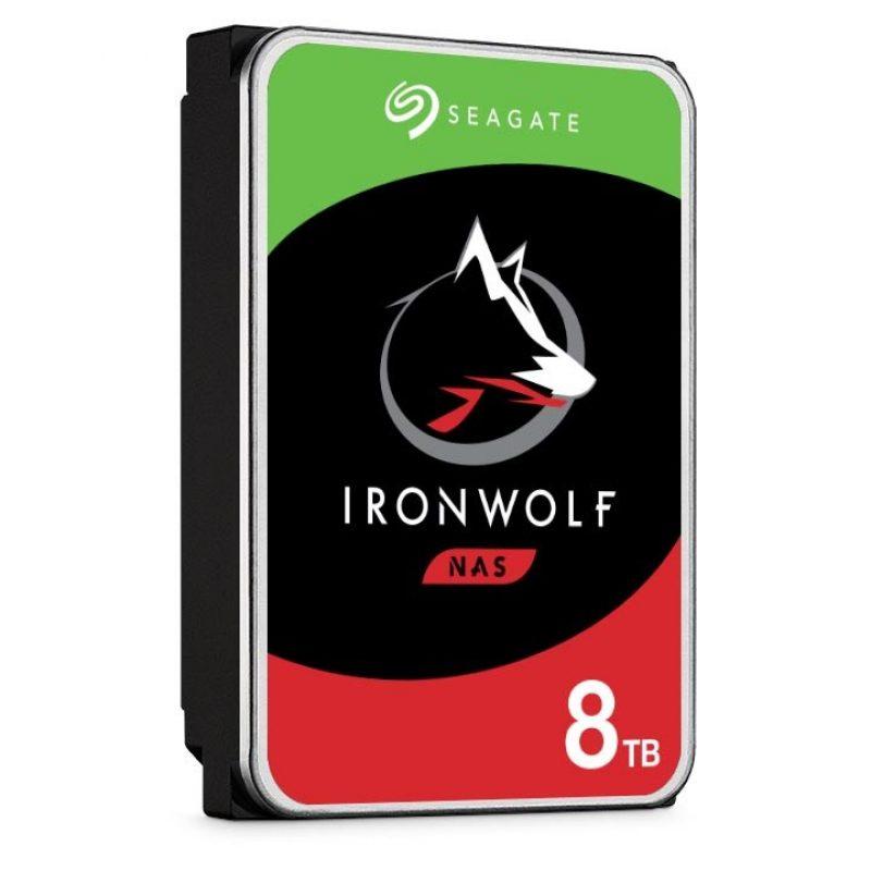 """希捷 Seagate 8TB 3.5"""" IronWolf NAS 24x7 7200 RPM 机械硬盘"""