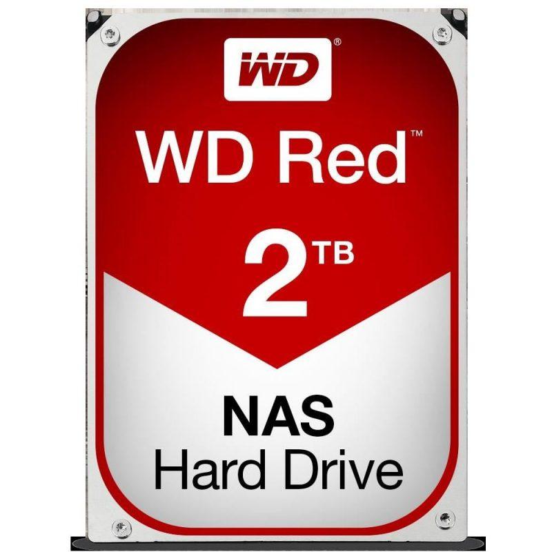 "WD Red 2TB NAS 3.5"" 5400RPM 机械硬盘"