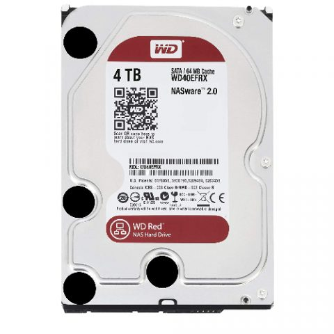 "WD Red 4TB NAS 3.5"" 5400RPM 机械硬盘"
