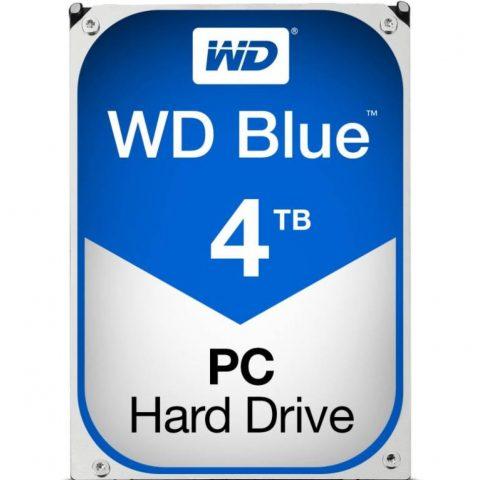 "WD Blue 4TB 3.5"" 5400RPM 机械硬盘"