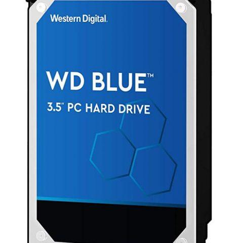 "WD Blue 6TB 3.5"" 5400RPM 机械硬盘"