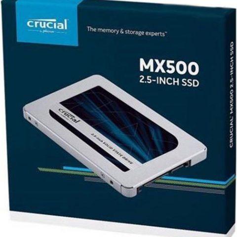 """镁光 Crucial MX500 500GB 2.5"""" SATA 固态硬盘 SSD"""