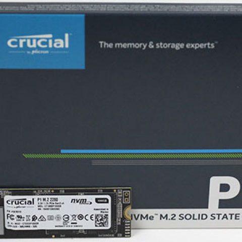 镁光 Crucial P1 1TB M.2 (2280) NVMe PCIe 固态硬盘 SSD