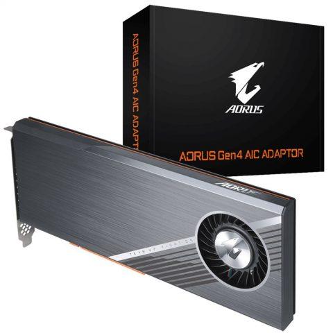技嘉 Gigabyte Aorus Gen4 AIC Adaptor 固态硬盘 SSD