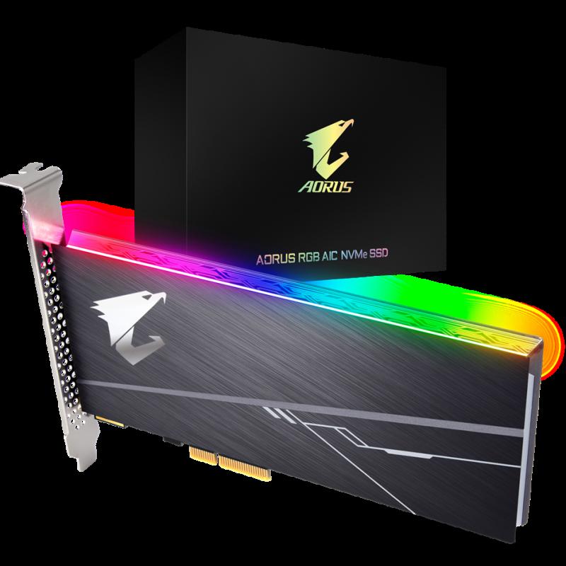 技嘉 Gigabyte Aorus AIC PCIe x4 NVMe SSD 1TB 固态硬盘 SSD