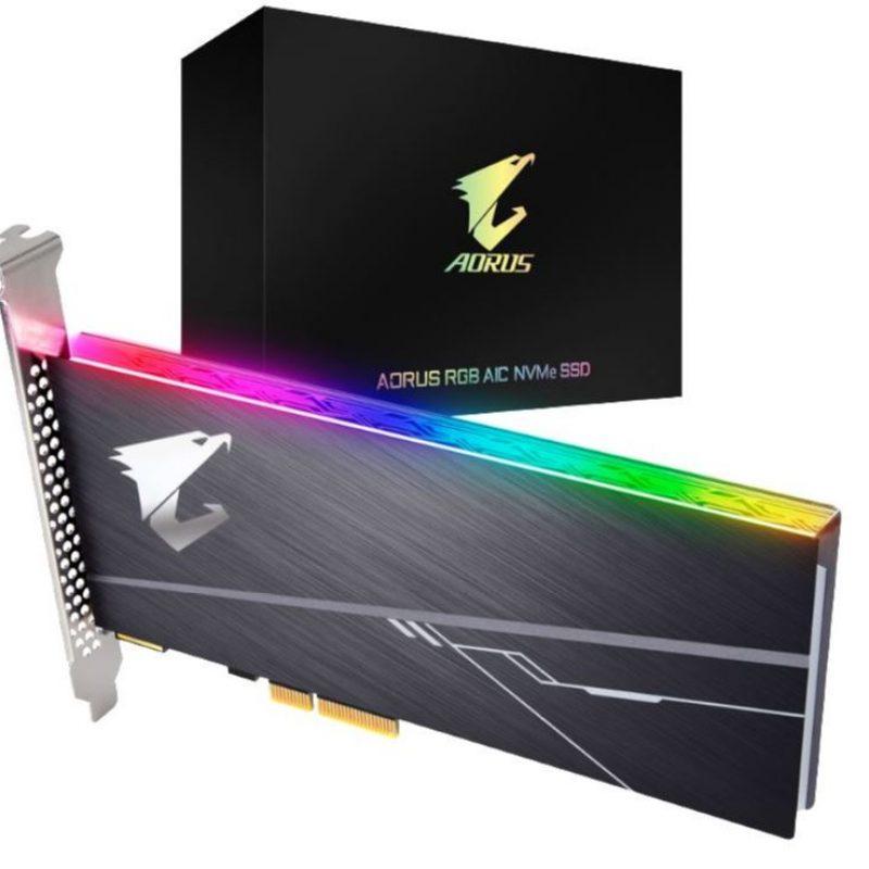 技嘉 Gigabyte Aorus AIC PCIe x4 NVMe SSD 512GB 固态硬盘 SSD