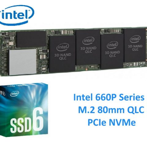 Intel 660P Series PCIe NVMe M.2 512GB 固态硬盘 SSD