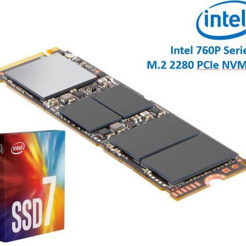 Intel 760P Series M.2 80mm 1TB 固态硬盘 SSD