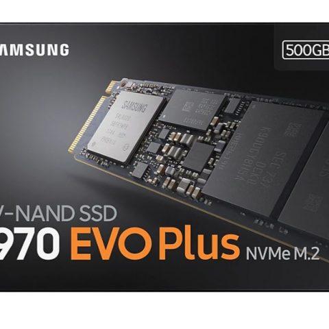三星 970 EVO Plus 高速SSD固态硬盘500GB