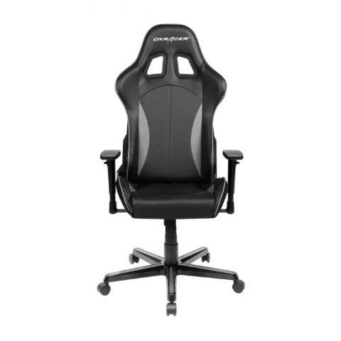 DXRacer 迪锐克斯 Formula FL57 Gaming Chair Black & Carbon Grey 电竞椅 椅子