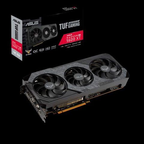 华硕 TUF 电竞特工 Gaming X3 Radeon RX 5600 XT EVO OC Edition 游戏显卡 设计显卡 渲染显卡