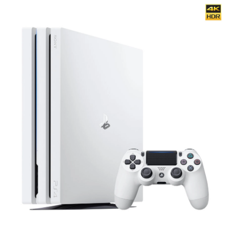 PlayStation 4 Pro 1TB Console - 白 家用游戏机