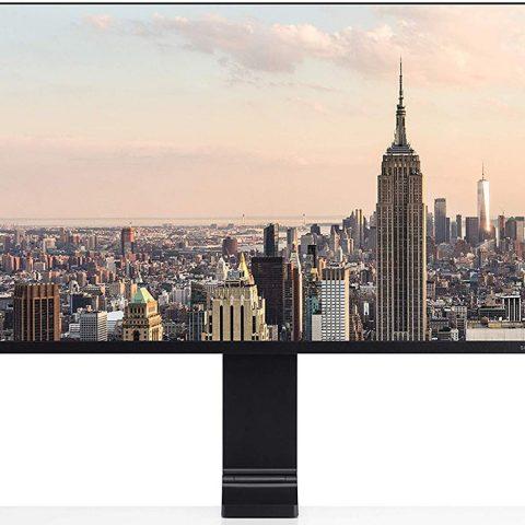 三星27寸 QHD 2K 144Hz 无边框空气支架电竞显示器