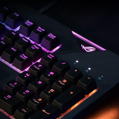 华硕玩家国度 ROG精英键鼠套装 键盘鼠标套装