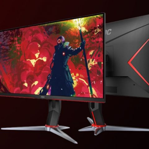 AOC 27' IPS 1ms 144Hz G-Sync, Free-Sync Compatible. HDR, Full HD, Game Mode, 1x VGA, 2x HDMI 1.4, 1x DP 1.4, Height Adjustable Stand.