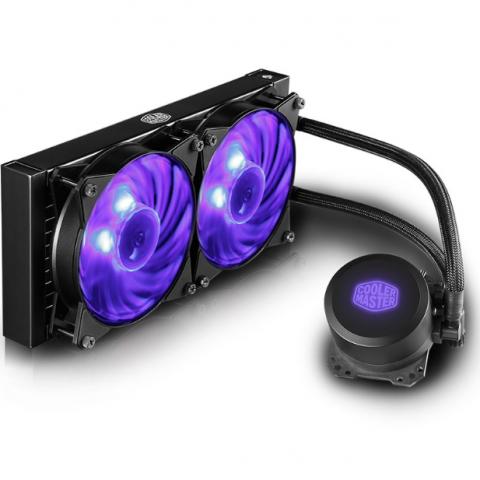 酷冷至尊 冰神ML240L RGB CPU水冷散热器