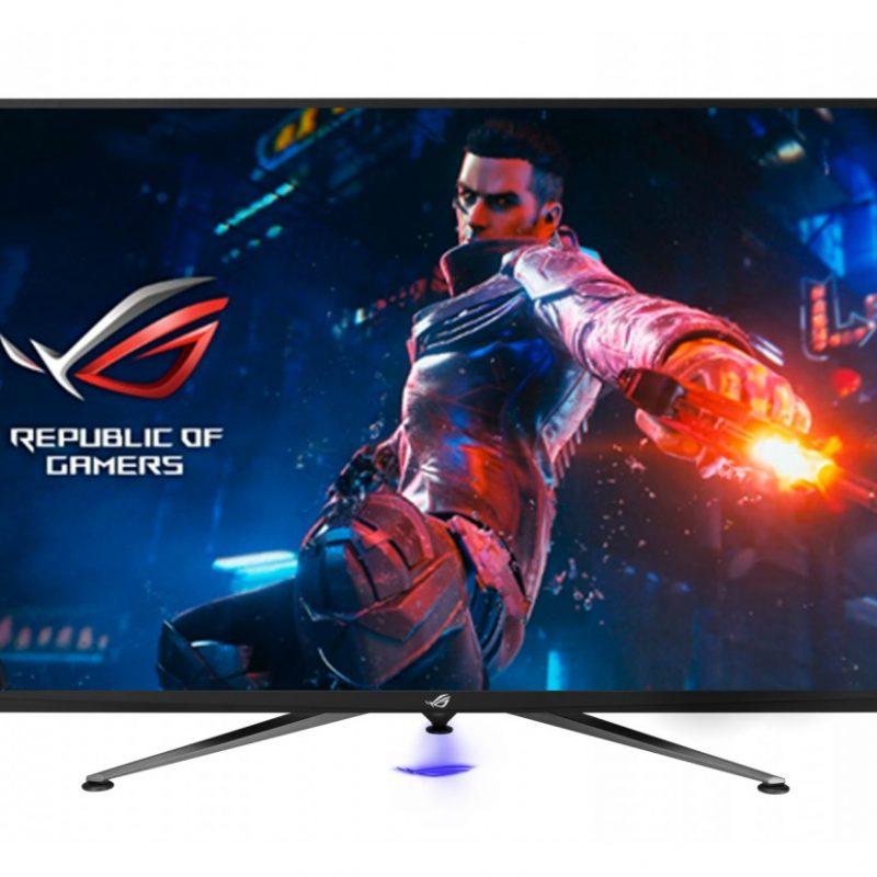 华硕 华硕 Asus  玩家国度 玩家国度 ROG PG43UQ 4K 4K 144Hz 电竞 G-Sync HDR 43in 显示器
