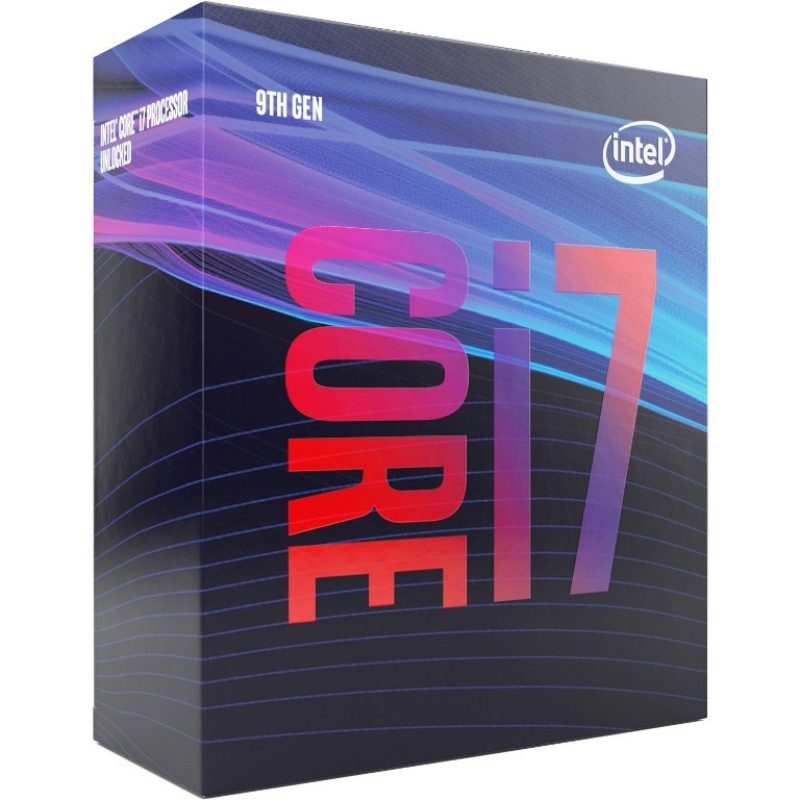 Intel 核心 i7 9700 3.0Ghz with Fan 处理器 CPU